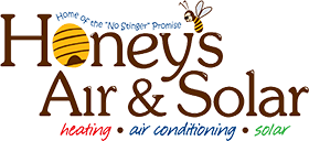 Honey's Air & Solar Logo